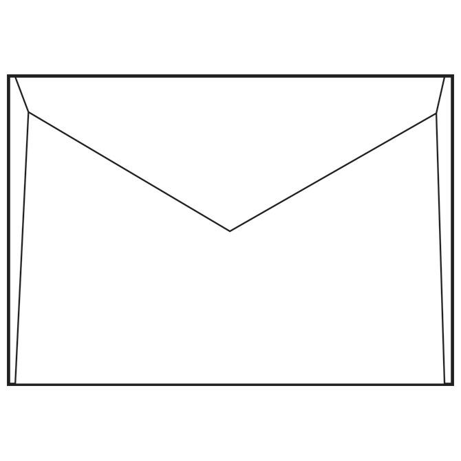 Kuverte B6-BB 75g pk1000 Fornax