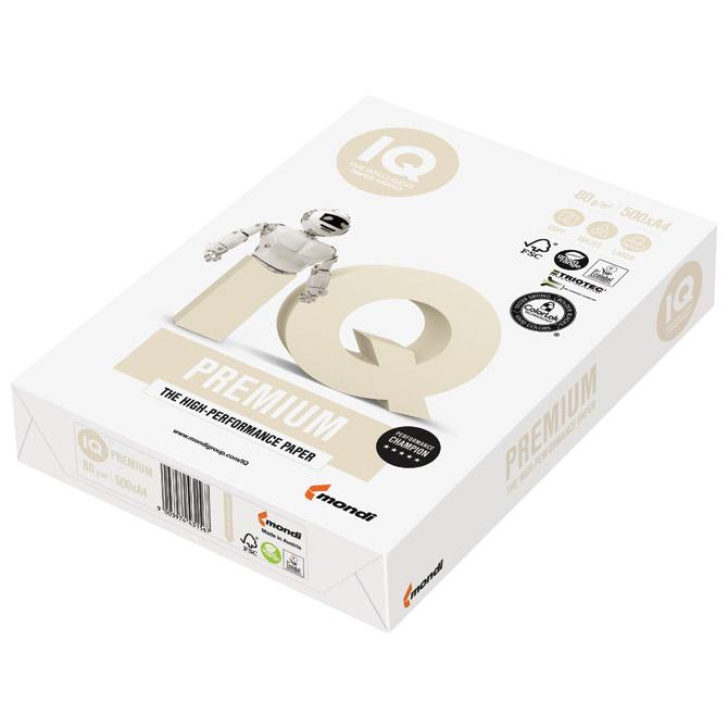 Papir ILK IQ Premium Triotec (sendvič) A4 80g pk500 Mondi