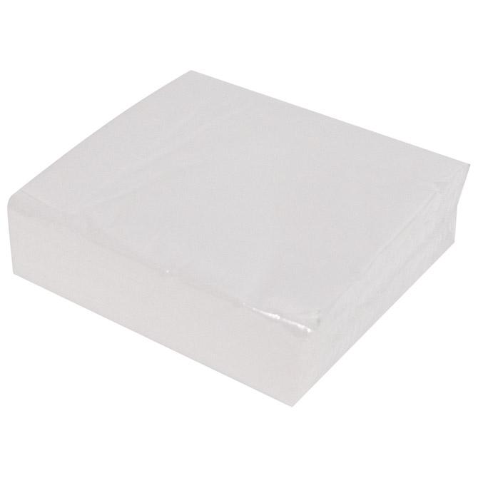 Salvete jednoslojne 30x30cm pk100 Cartindustria Veneta bijele
