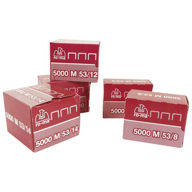 Spajalice strojne za tapeciranje 53/10mm pk5000 Maestri
