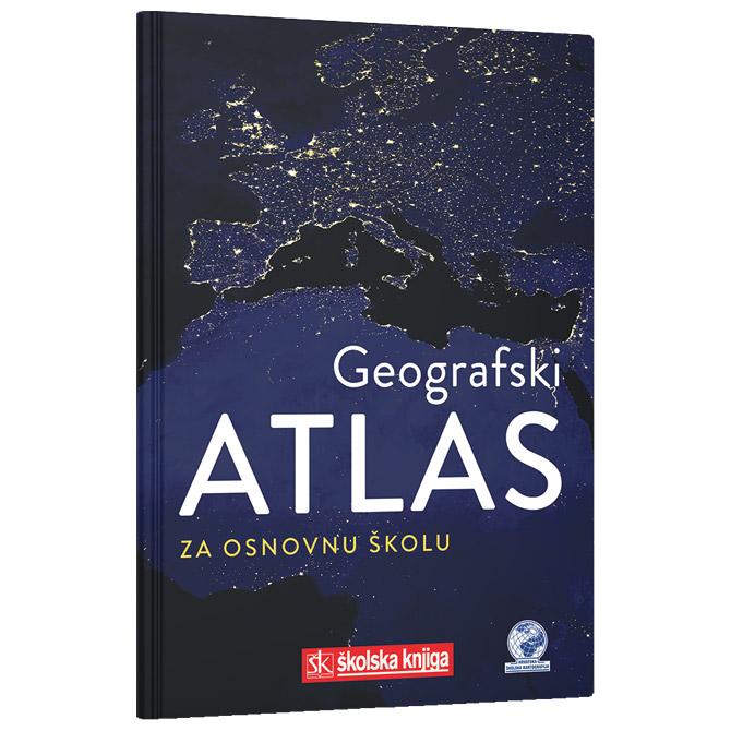 Atlas geografski za osnovnu školu-meki uvez Školska Knjiga