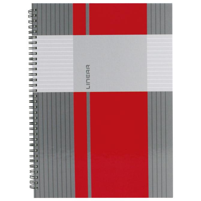 Blok kolegij A5 crte  80L mat+lak Linear Marker 2-65
