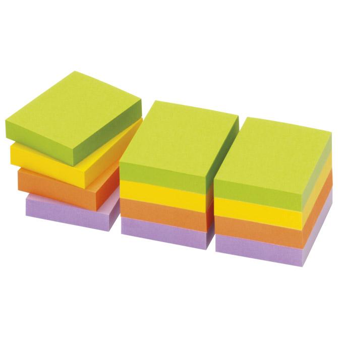Blok samoljepljiv  40x50mm 12x100L Spring Global Notes 5653-76 neon sortirano