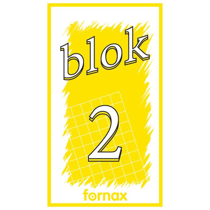 Blok za bilješke  65x115mm 50L br.2 Fornax