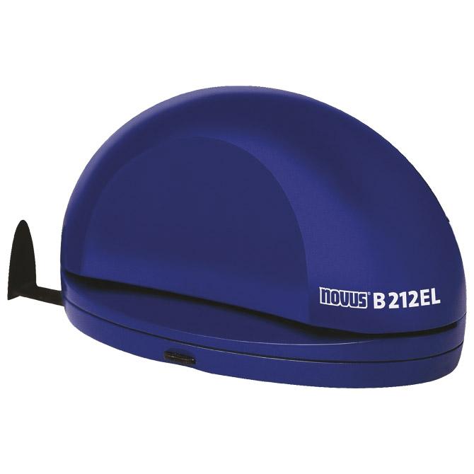 Bušač 2 rupe do  12 listova električni B212 Novus plavi!!
