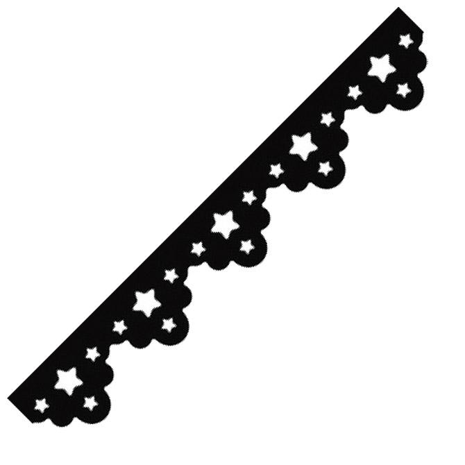 Bušač rub novogodišnji zvjezda Heyda 20-36874 87 blister