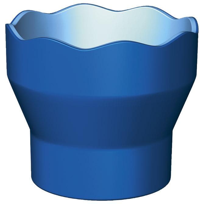 Čaša za tempere Clic&Go Faber Castell plava blister