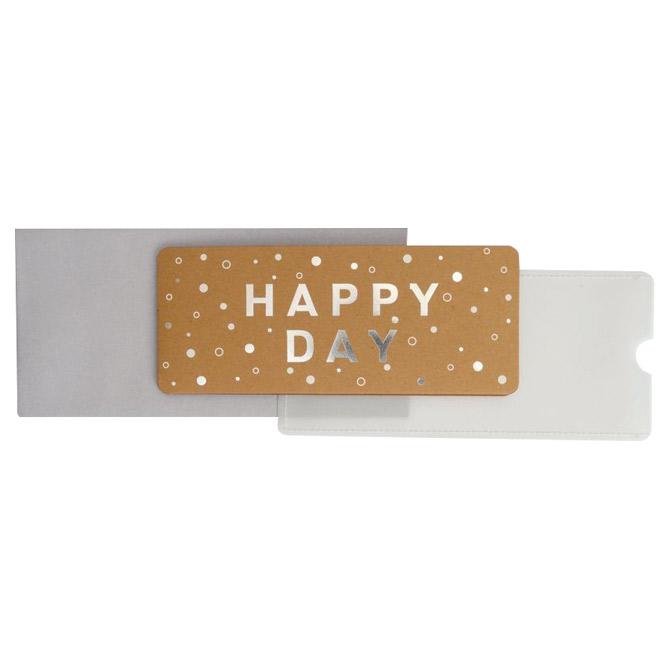 Čestitka 11x23cm Happy day Stewo 6203 75 blister