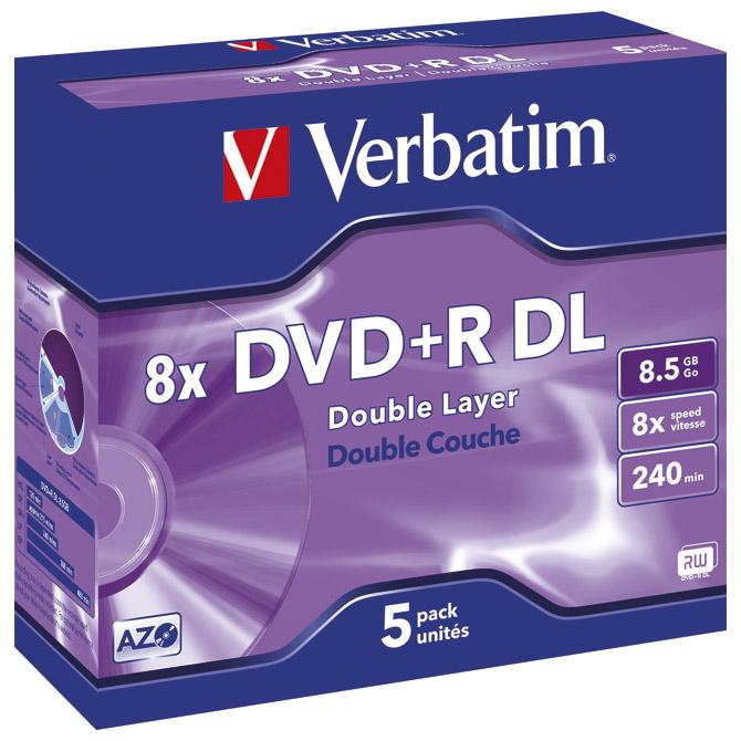 DVD+R DL 8