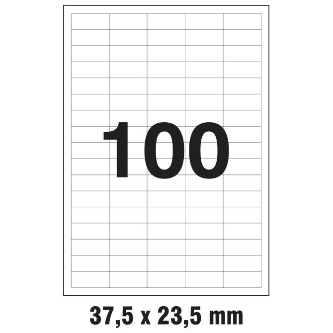 Etikete ILK  37x14mm pk100L Markin 210A401