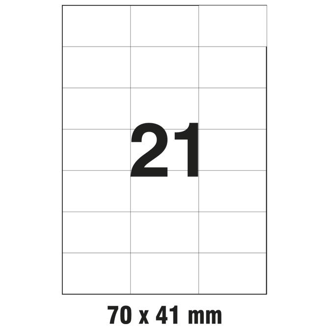 Etikete ILK  70x41mm pk100L Markin 210C523