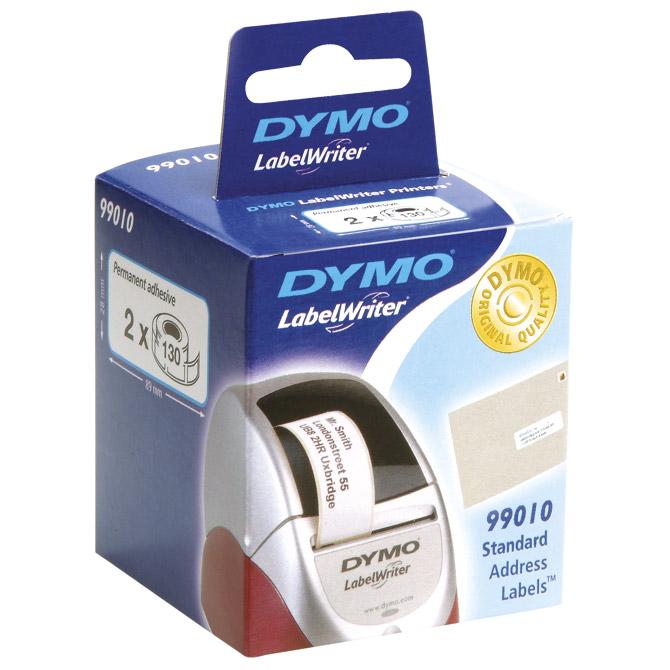 Etikete u roli- 28x89mm pk2 Dymo 99010 bijele blister