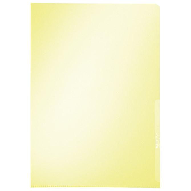 """Fascikl """"L"""" 150my pvc A4 Leitz 41000215 žuti"""