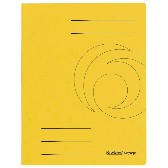 Fascikl klapa karton A4 Herlitz 10843944 žuti!!