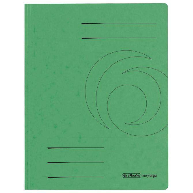 Fascikl klapa karton A4 Herlitz 10843951 zeleni!!