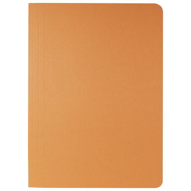 Fascikl klapa prešpan karton A4 Fornax narančasti
