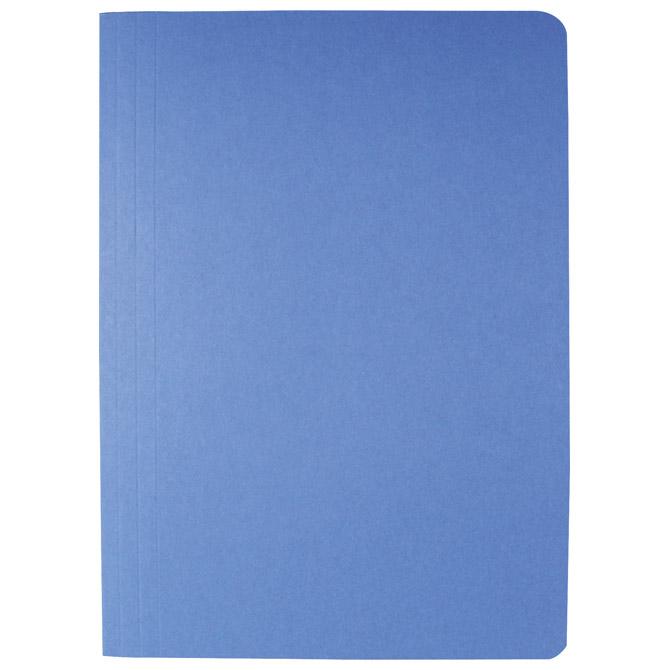Fascikl klapa prešpan karton A4 Fornax plavi
