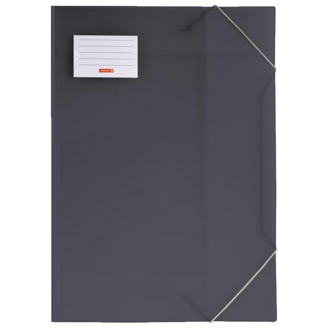Fascikl klapa s gumicom pp A3 Fact Brunnen 10-47053 80 crni