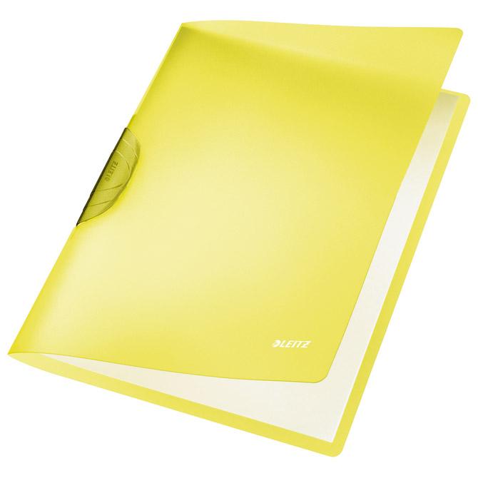 Fascikl klip pp A4 Color R-Bow Leitz 41760015 žuti