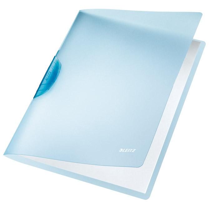 Fascikl klip pp A4 Color R-Bow Leitz 41760030 plavi