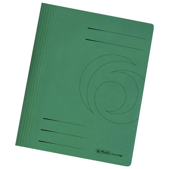 Fascikl mehanika euro karton A4 Herlitz 10902542 zeleni