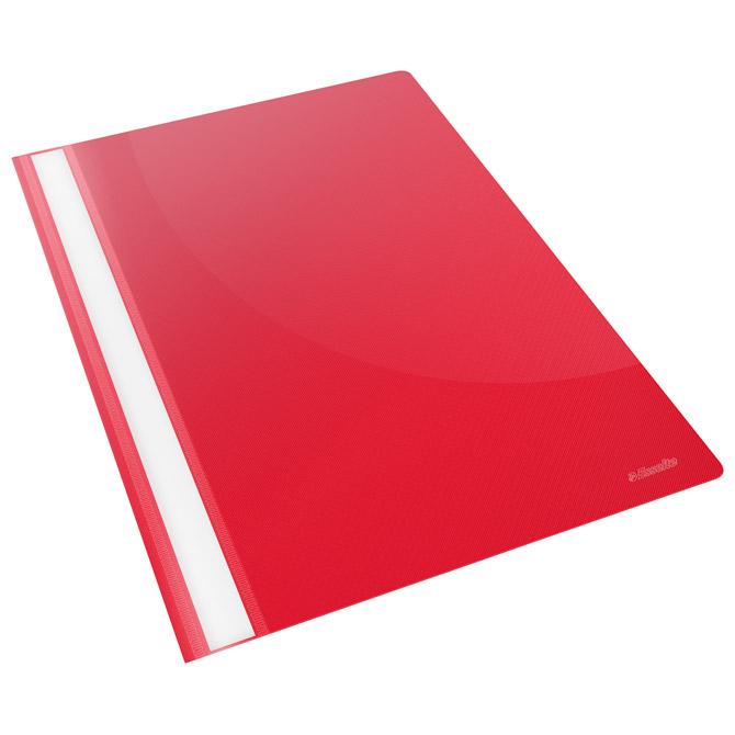 Fascikl mehanika klizna pp A4 Esselte 28316-M crveni