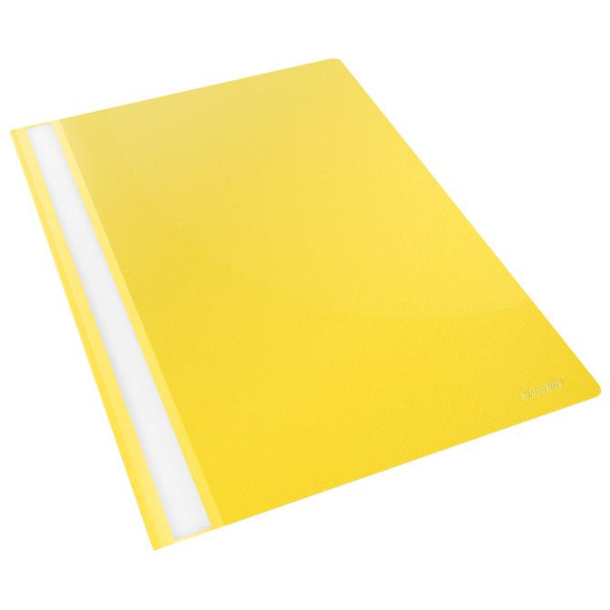 Fascikl mehanika klizna pp A4 Esselte 28318-M žuti