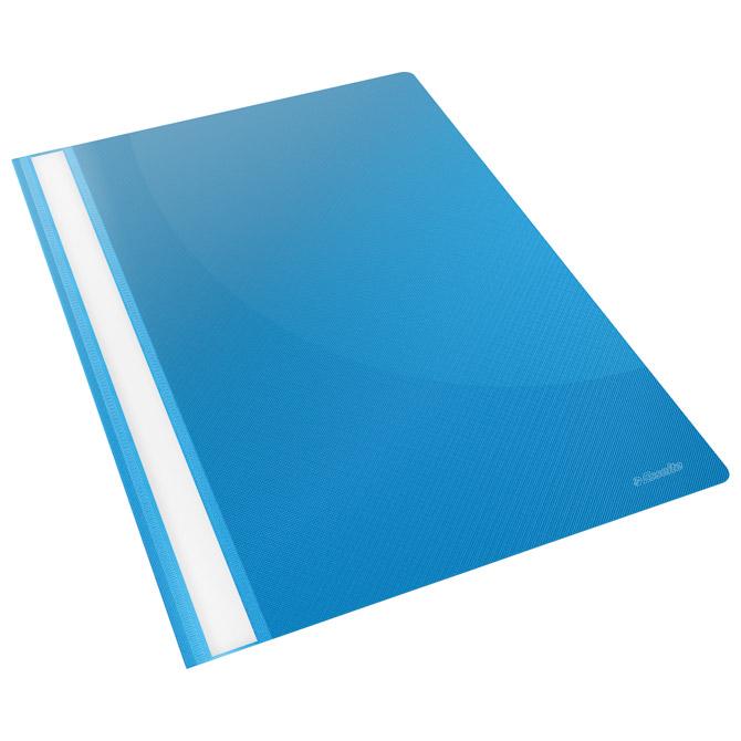 Fascikl mehanika klizna pp A4 Esselte 28322-M svijetlo plavi