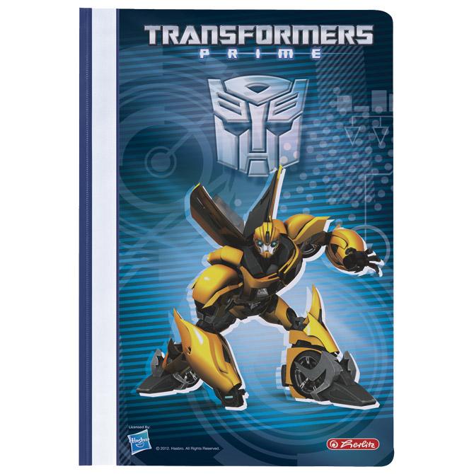 Fascikl mehanika klizna pp A4 Transformers Herlitz 11300555!!