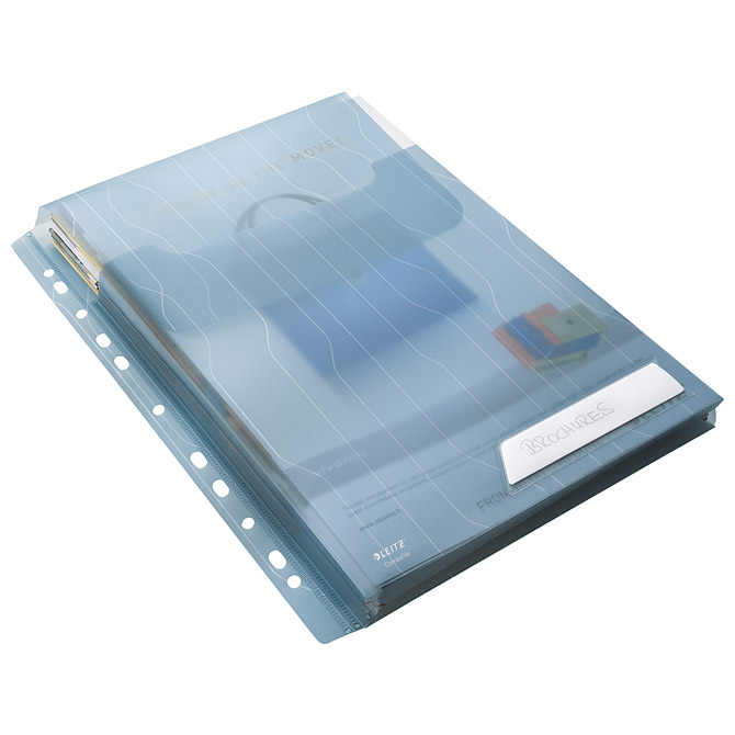 Fascikl uložni A4 pp prošireni+klapa gore pk3 CombiFile Leitz 47270035 plavi