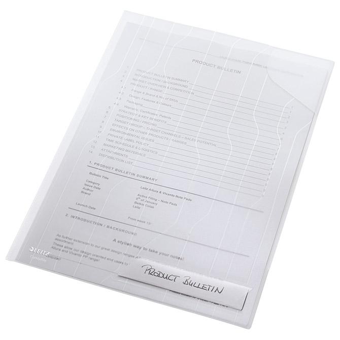 Fascikl uložni A4 pp sa zatvorenim kutom pk5 CombiFile Leitz 47260003 bijeli