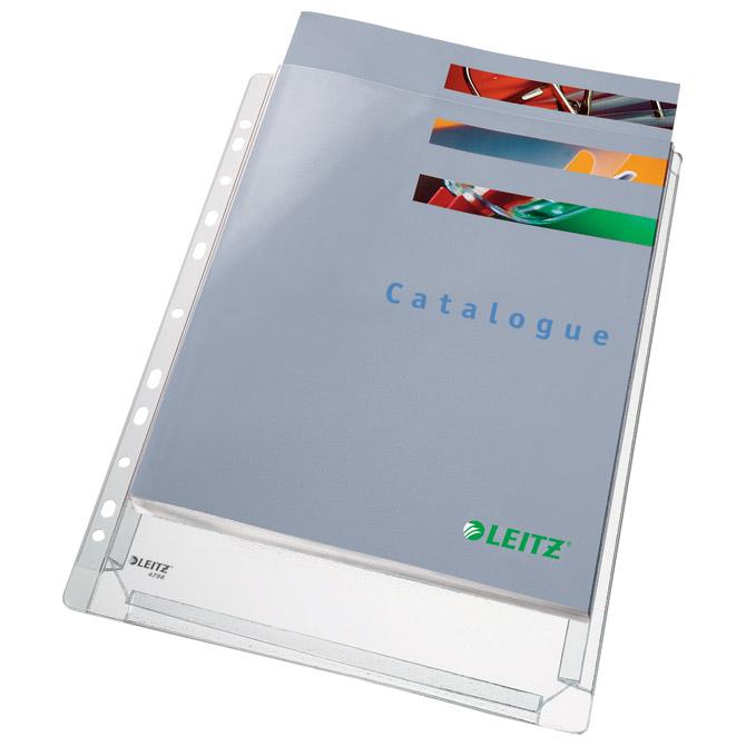 Fascikl uložni A4 pvc prošireni 170my pk10 Leitz 47561003