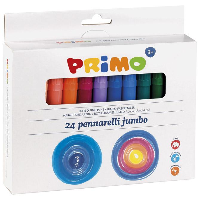 Flomaster školski  24boje Primo Jumbo CMP.604JUMBO24 blister