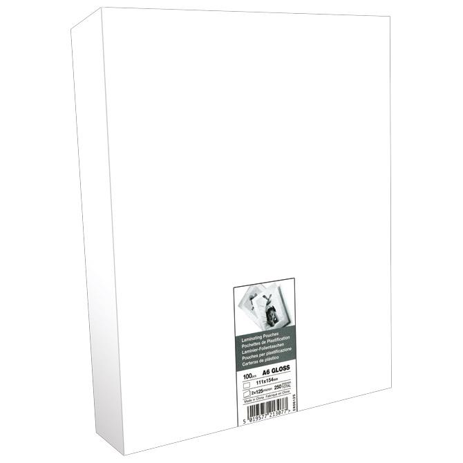 Folija za plastificiranje 125my A6 sjajna pk100 GBC 3740442