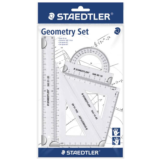 Geometrijski set 1/4 Staedtler 569 PB4-0 blister