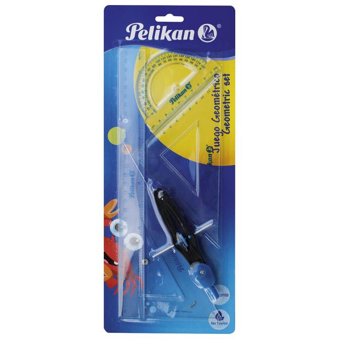 Geometrijski set 1/5 Pelikan 700252 blister