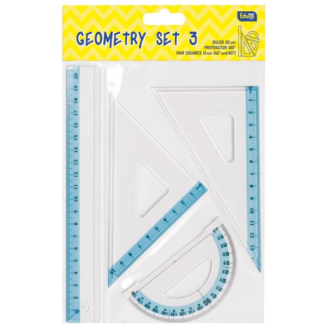 Geometrijski set GT3 mali Educa blister