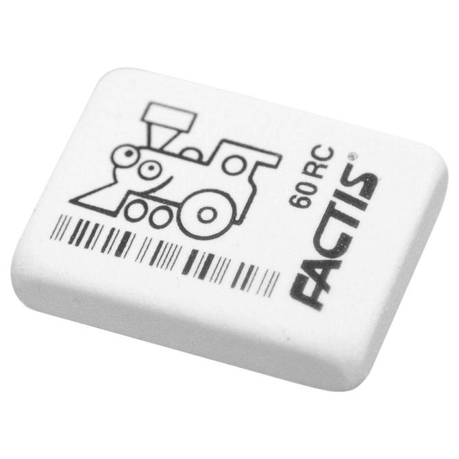 Gumica kaučuk 60RC Factis bijela-KOMAD
