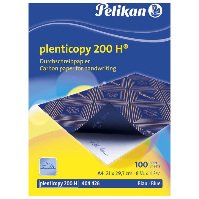 Indigo ručni A4 pk100 200H Pelikan 404426 1/50/2500