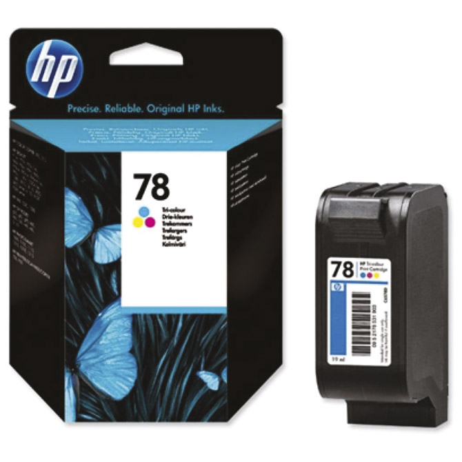 Ink Jet HP. no.78 C6578DE 19ml original kolor!!