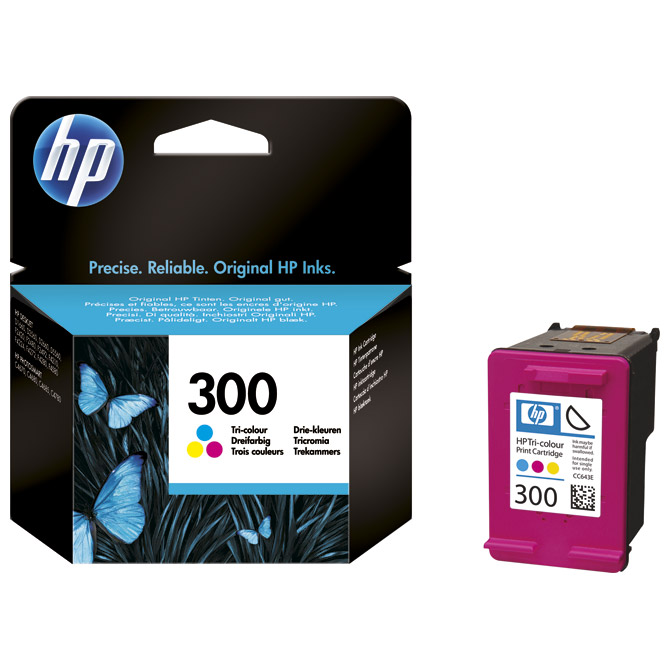 Ink Jet HP.no.300 CC643EE original kolor