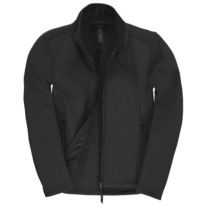 Jakna zip ženska B&C ID.701 Softshell/women crna L