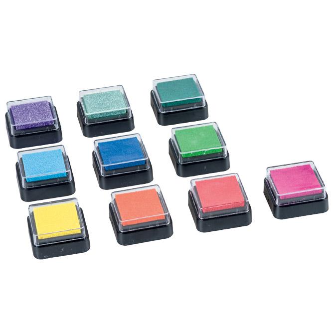 Jastučić za pečat 10boja Rainbow Heyda 20-48884 70