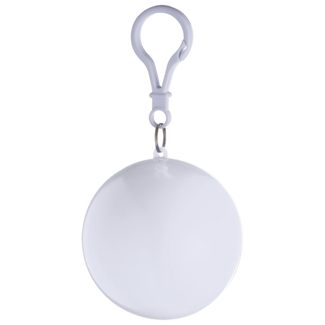 Kabanica s karabinerom u lopti bijeloj prozirno bijela