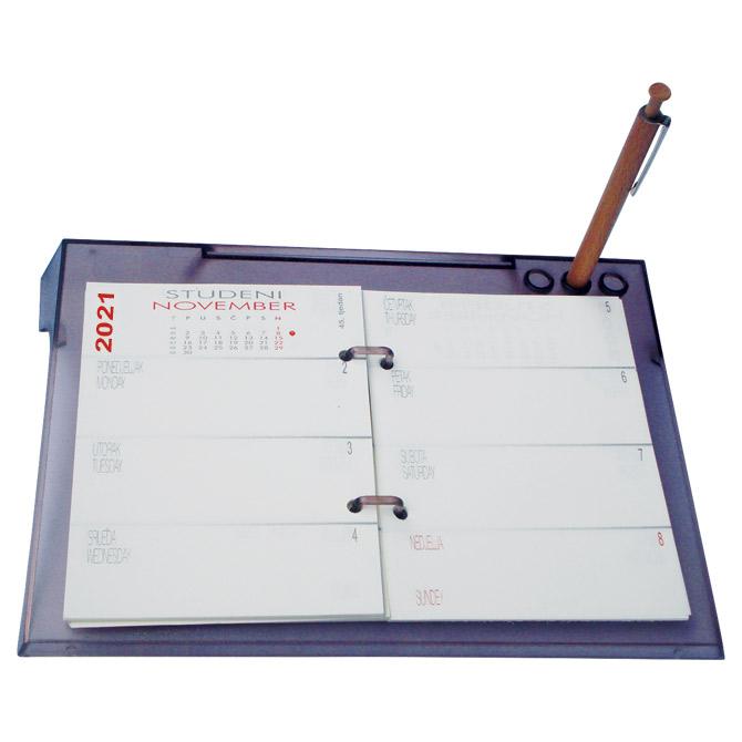 Kalendar stolni Plexi tjedni 2021.