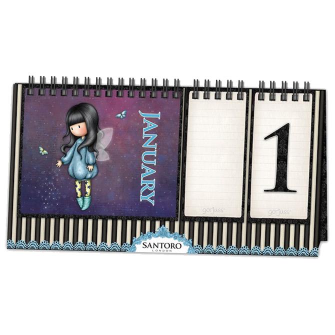 Kalendar stolni trajni Bubble Fairy Gorjuss 760GJ03