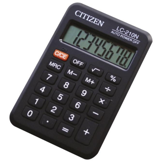 Kalkulator komercijalni  8mjesta Citizen LC-210NR crni