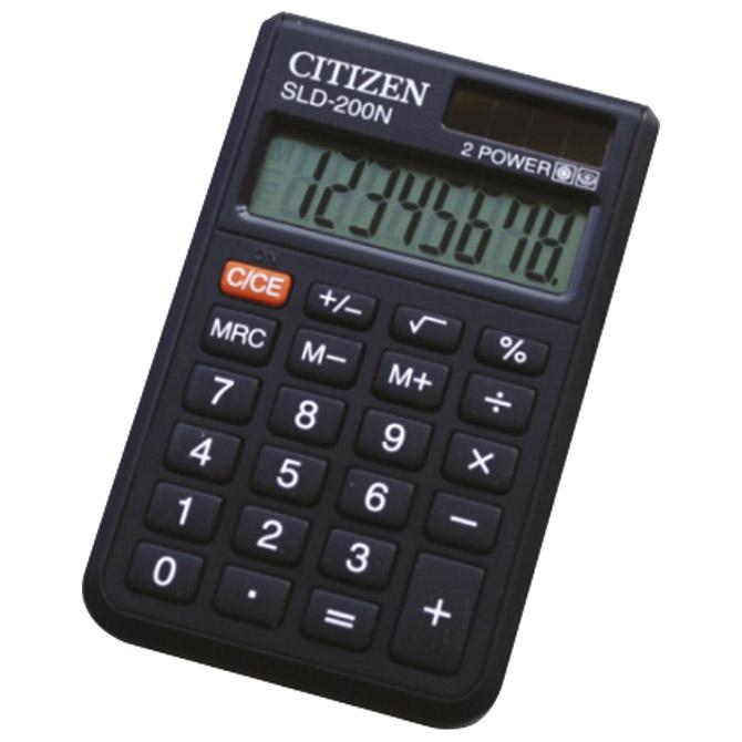 Kalkulator komercijalni  8mjesta Citizen SLD-200N crni