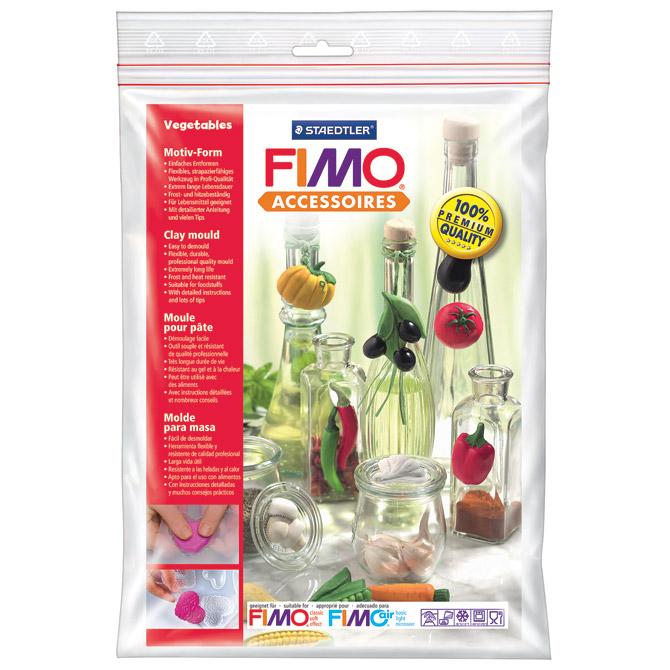 Kalup za modeliranje veliki Povrće Fimo Staedtler 874243 blister!!