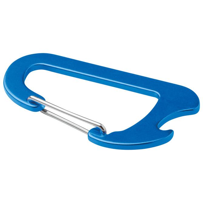 Karabin-otvarač za bocu metalni plavi!!